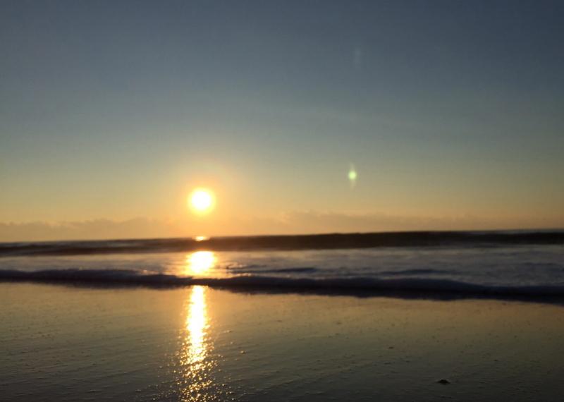 久里浜からの初日の出