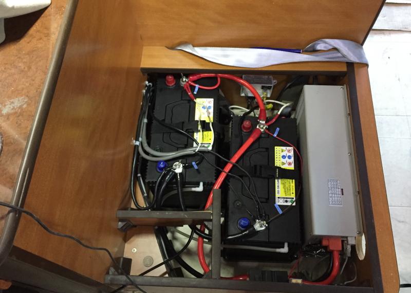 電装品 バッテリー インバーター