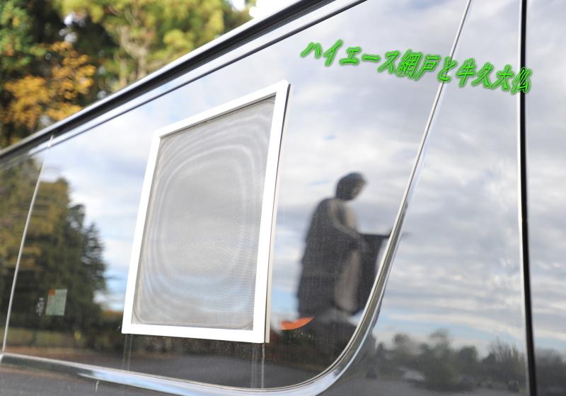 ハイエースで車中泊やドライブ中のおもしろ写真  バグネットと大仏