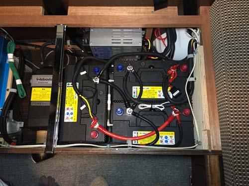 充電量に合わせてバッテリーを増設